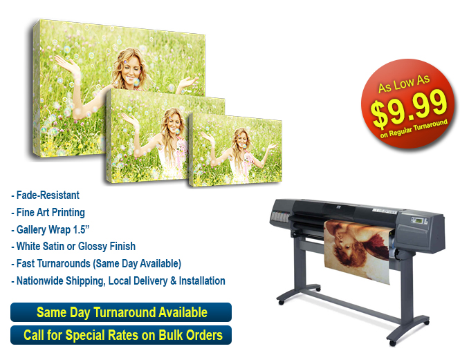 Canvas Wrap Printing
